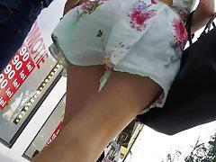 Summer skirt commando