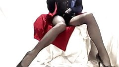 Seamed Tights Mistress Playtime