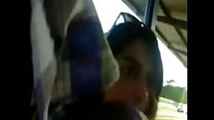 Indian Girl Bus Station Masturbation
