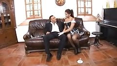 Man cheats with the maid