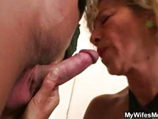Wife catches her man fucking pretty mother in law