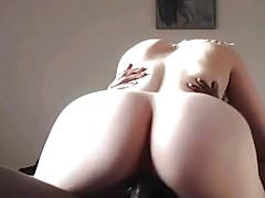 Wife with great ass riding BBC