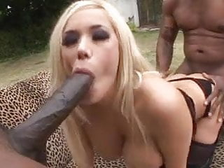 MILF Shyla Styles in Sexy Outfit Takes on 2 BBC