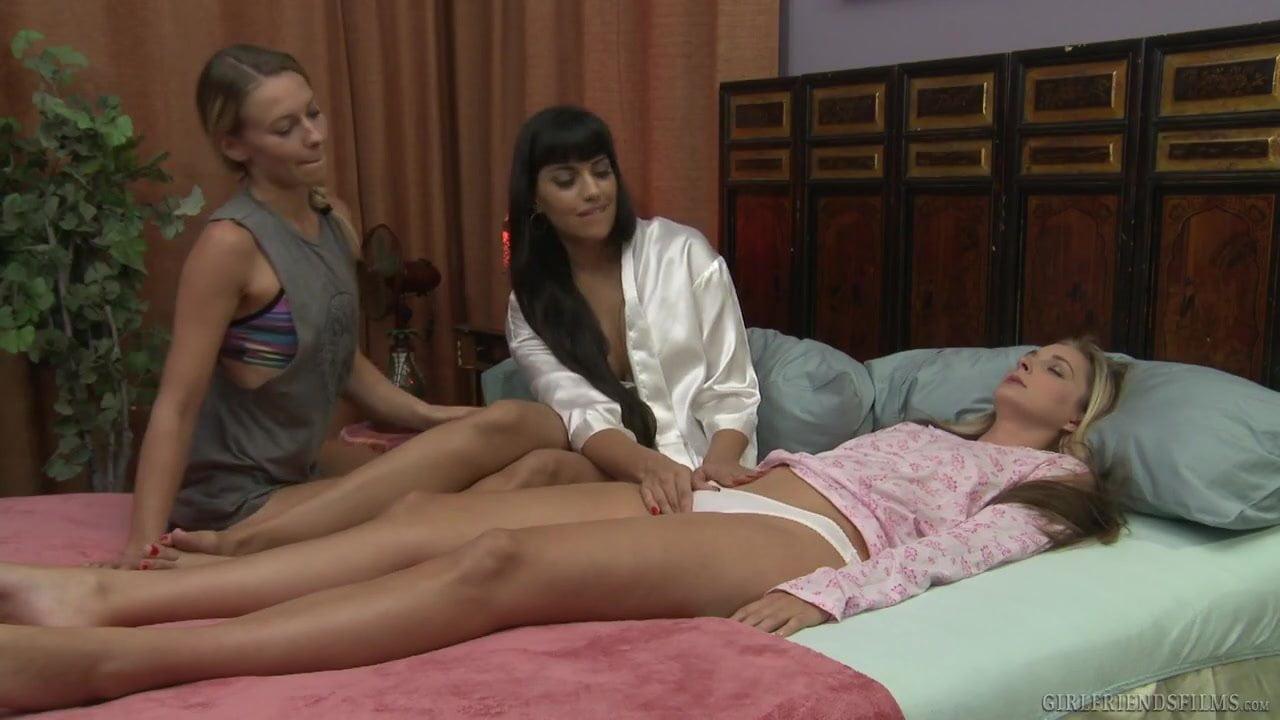 Lesbian healing power mercedes carrera allie eve knox - 3 part 2