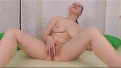Fat Chubby Teen GF short on cash masturbate on cam