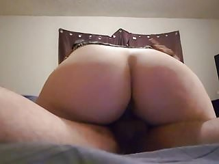 Pounding some big white booty!
