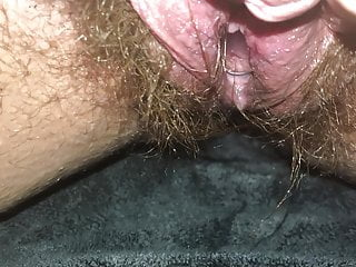 Dripping Pussy Gushes After Birth