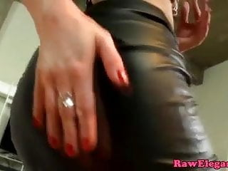Glam eurobabe assfucked by a black dick pov
