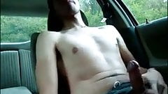 Horny hunks in car 20
