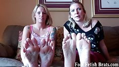 We know you want to jerk it to our feet