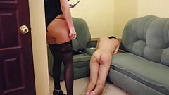 spanking slave for real's Thumb