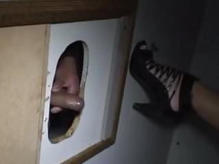 Gloryhole premature ejaculation