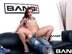 BANG Casting: Kimber Woods Raw Anal Pounding