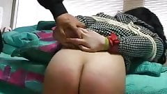 Bound Asian Caning