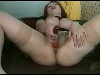Big Tittied Fat Chubby Ex Gf loves riding cock