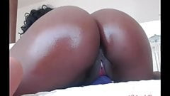 Phat ebony ass pussy contraction