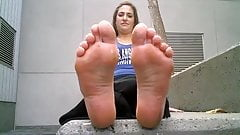 Smell my sexy feet