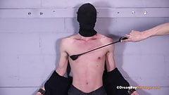 Bound Twink Nipples Cropped Nipple Play BDSM Gay Bondage