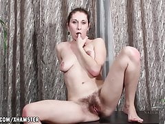 Baby Boom fingering her pussy