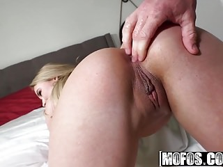 Mofos - Lets Try Anal - Alyssa Cole and Michael Vegas - Butt