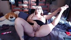 Hairy mom Joclyn with big tits and lots of role play