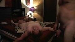 Blonde Slut BBW Blow Job