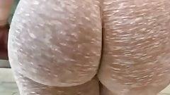 Arab big round ass
