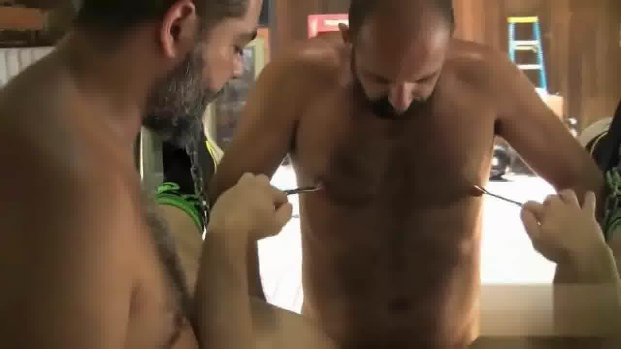 nipples Gay naked