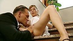 italian blondie anally fucked