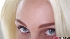PAWG Blonde Alexis Gives Sucks My Big Cock FilthyPOV
