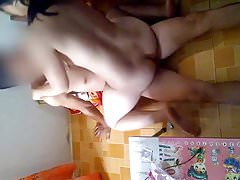 Asian Couple Having Sex (Tranh Thu Luc Con Ngu) Part 1