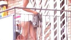 spy neighbour milf great ass