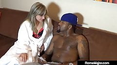 Blonde Jayla Diamond Fucked & Banged By Rome Major & His BBC