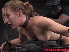 Display bonded sexslave facefucked in IR trio