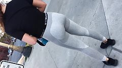 FIT TEEN TIGHT GREY SPANDEX