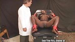 Wild Ebony Slut Shocked and Screwed!