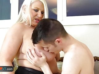Agedlove cumshot at mature chubby