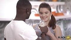 Very huge dick of black lover makes white teen happy's Thumb
