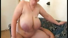 Bbw girlfriend swallows