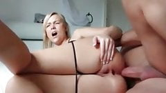 Painfull anal with cum !