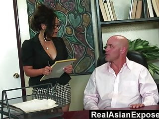Preview 1 of RealAsianExposed  Jessica Bangkok Is the Best Secretary Ever