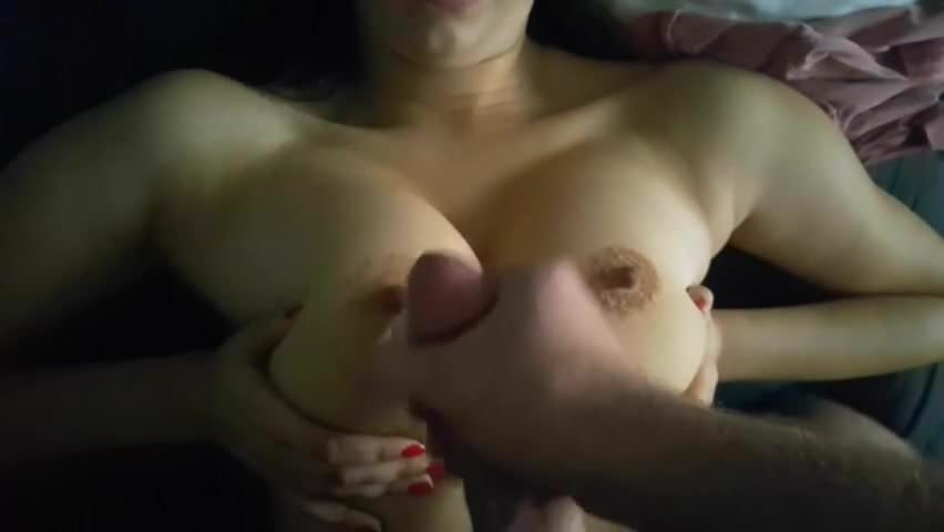 Blindfold cumshot. Stephine from DATES25.COM