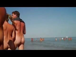 Preview 3 of Nude Beach - Srolling along Nude Beach 2