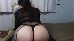 big ass nely shemale self cum