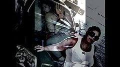 BBW Latina GLORYANNA RIDE in Fishnet Bodystocking Rides BBC