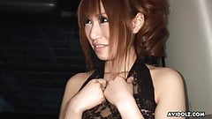 Cock loving escort girl, Sae Sakamoto is sucking for free