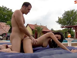 Big Boobed Babe Loves Anal