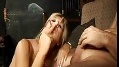 Hot Cougar Sloppy Smoking BJ