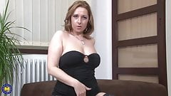 Hot real MILF with amazing body