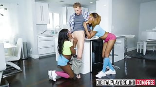 DigitalPlayground - Sharing My White Stepdad Azaelia Noemi B